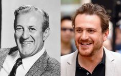 Famous Lookalikes: Lee J. Cobb - Jason Segel (Images of Lee J. Cobb and Jason Segel provided by Getty Images) Celebrity Twins, Celebrity Look, Celebrity Pictures, Jennifer Lawrence, Michael Jackson, Famous Celebrities, Celebs, Unexpected Relationships, Look Alike