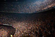 CampNou #FCBarcelona #CampNou #FCBarca #stadiums #soccerstadiums #Spain