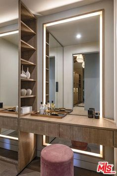 bedroom wardrobe design with dressing table Wardrobe Design Bedroom, Room Design Bedroom, Bedroom Furniture Design, Bedroom Wardrobe, Home Room Design, Wardrobe Closet, Master Closet, Bedroom Decor, Glass Furniture