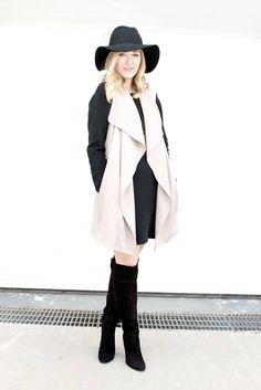 Nicole / February 17, 2016Sweater Dress and Waistcoat ComboSweater Dress and Waistcoat Combo | Dainty Girl