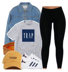 """""""untitled #171"""" by yani122 ❤ liked on Polyvore featuring MCM, adidas and Michael Kors"""