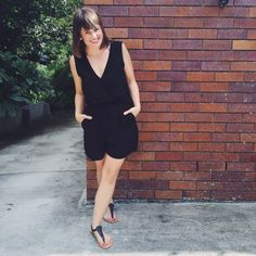 Summer Wardrobe by Pretty Chuffed. DFO Jindalee Cotton On playsuit AUD$15 and sandals 3 for AUD$10 https://www.facebook.com/DFOJindaleeQLD