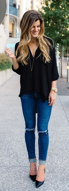 going out outfit, fall outfit idea, the best black tunic, black tunic outfit, fall transition outfit idea