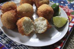 Bollitos de Frijoles de Carita/Black-Eyed Pea Fritters
