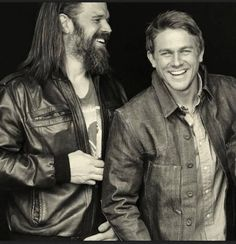 Ryan Hurst and Charlie Hunnam. My two favorite characters on SOA