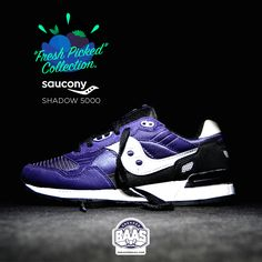 """#saucony #sauconyorigs #shadow5000 #sauconyshadow #sneakerbaas #baasbovenbaas  Saucony Shadow 5000 """"Purple"""" - Now available - Priced at 99.95 Euro  For more info about your order please send an e-mail to webshop #sneakerbaas.com!"""