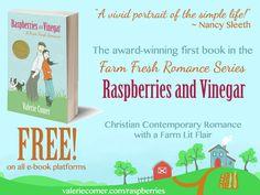 Raspberries and Vinegar FREE in e-Book on Kindle, Nook, iBooks, and Kobo!