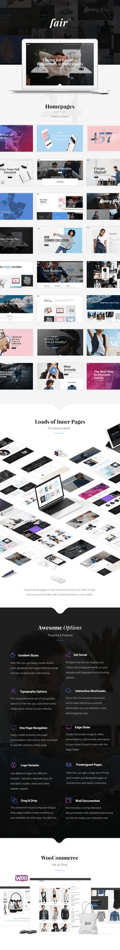 Fair - A Fresh Multipurpose Theme for Creative Businesses & Individuals by…