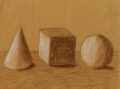 Art Projects for Kids: How to Shade 3D Objects