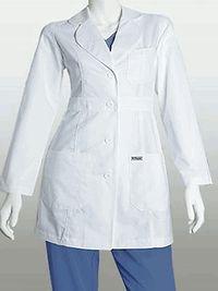Barco Grey's Anatomy 3 Pocket Labcoat Scrubs | MyNursingUniforms #nursestyle #hospitalstyle #greysanatomy