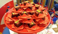 Pão de Mel em Forminhas de Origami