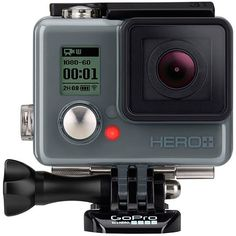 Câmera Digital GoPro Hero Plus 8.1MP com WiFi Bluetooth e Gravação Full HD - Preta