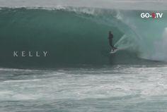 Kelly Slater y Aritz Aranburu en Cave #surfing #surf
