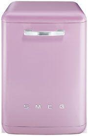 Pink SMEG dishwasher - WANT!