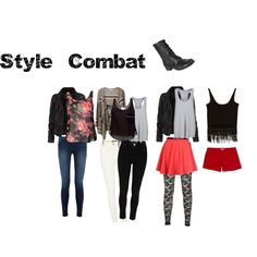 What to wear with combat boots.