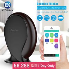 Find More Smart Home Controls Information about Geeklink Thinker Remote Controller Switch for Smart Home Security Router Wireless Alarm Smart Home Automation by IOS/Android,High Quality control switch box,China control plug Suppliers, Cheap control ups from Guangzhou Etoplink Co., Ltd on Aliexpress.com
