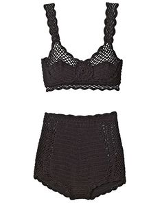 INSPIRATION, underthings // Knit bra, $925, shorts, $1,650, both, Dolce & Gabbana