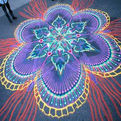 Joe Mangrum Sand Painting art See more on his board via this link. Exceptional quality -beautiful and ephemeral.