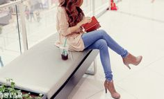 pretty clothes and shoes | shoes must have love in love outfit cute pretty gilry girlie clothes ...