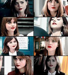 Clara Oswald's red lipstick appreciation post