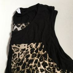 Leopard print top Light weight and perfect for layering or summer! Great condition! Joseph A Tops Blouses