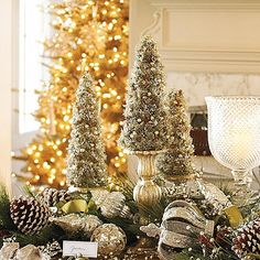 Frontgate - Tiny Table Trees - ADORABLE!