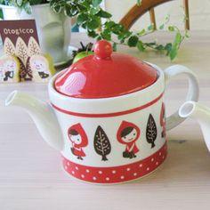Red Riding Hood tea pot