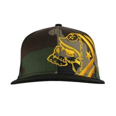 f13bde643ee Shop today for the hottest brands in mens shoes and womens shoes at  Journeys.com.Snapback camo hat with offset Metal Mulisha ...