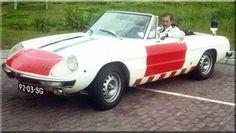 Alfa Romeo Spider of Dutch National Police