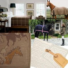 Interior designer, shop owner and former horse show mom, Geri Roper, designs a line of luxury horse blankets, perfect as throws and duvets for the house to add a sophisticated equestrian touch. Geri has spent many, many hours at horse shows watching her daughter, Whitney, compete nationally in the equitation, hunter and jumper divisions. Each year, when Geri was in Wellington for the Winter Equestrian Festival, she would treat herself to an exquisite horse blanket for herself!