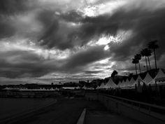 Festival de Cannes - Nuages sur la Croisette