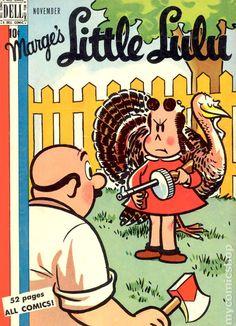 Little Lulu #17 Published November 1949 by Dell/Gold Key.