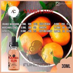 Njoy (Samba Sam) - сочный персик с абрикосом, покрытые воздушным зефиром с легким послевкусием