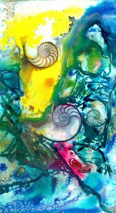 Sea Bliss  No 14 by Kathy Morton Stanion