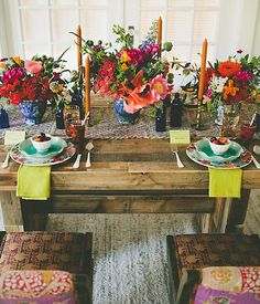 Summer tablescapes, inspired by the palette of a rainier cherry. #whywelovesummer