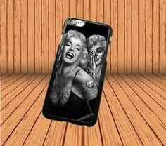 Marilyn Monroe Skull for iPhone 5C Hard Case Cover Laser Technology #designyourcasebyme