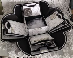Bits By Nancy: Explosion Box or...Scrapbook in a Box or...Photo Box