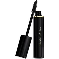 Elizabeth Arden Double Density Maximum Volume Mascara (€18) ❤ liked on Polyvore featuring beauty products, makeup, eye makeup, mascara, fillers, beauty, brown, smudge proof mascara, thickening mascara and elizabeth arden