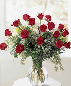 Long stem, small headed freedom roses
