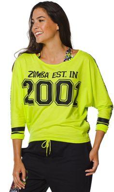 Team Zumba Dolman Top | Zumba Fitness Shop