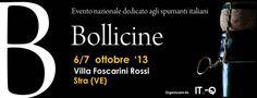 Il 6 e 7 ottobre a Stra (Ve) Bollicine 2013