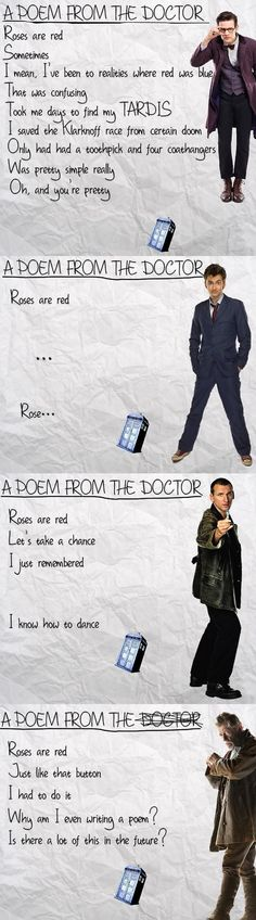 The Doctor is a Poet