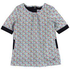 Petit Bateau - Printed poplin dress - 58948