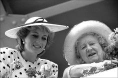 Diana et queen mum