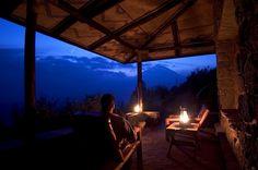 Virunga Lodge, Rwanda