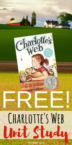Charlotte's Web by E.B. White is a book that every little kid simply MUST read. Here is a free homeschool unit study lesson plan for you. This post contains affiliate links. It happens to be one of the most beloved classics of most adult's youth: Charlotte's Web.  A pig, a spider, a friendship that is …