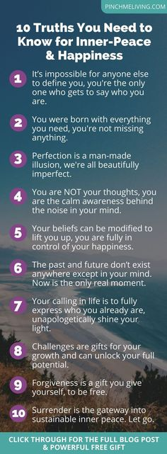 10 Truths You Need t