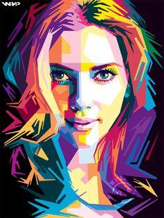 Gambar Wpap Terbaik Wajah Seni Dan Illustration