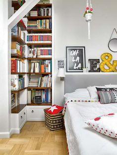 Zdjęcie numer 6 w galerii - Białe mieszkanie na poddaszu w duchu vintage