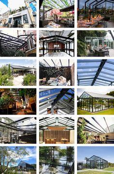 Custom + Architectural   WinterGardenz Pacific Garden, New Housing Developments, Farm Restaurant, Glass Structure, Garden Bar, Glass Roof, Brickwork, Urban Farming, Outdoor Landscaping